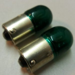 245 12v 10w Green Bullbs