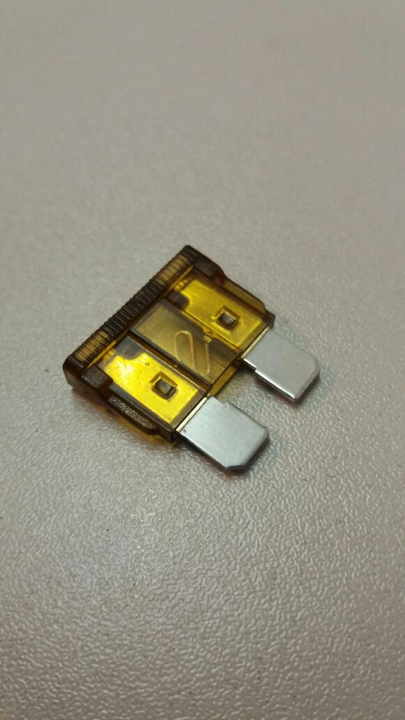 7.5 amp standard blade fuse